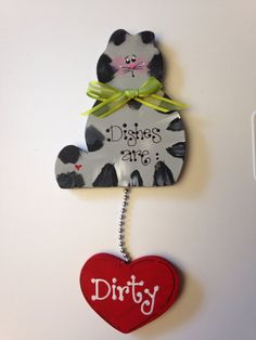 Hey, I found this really awesome Etsy listing at https://www.etsy.com/listing/177891810/cat-gray-dishwasher-sign-magnet-or