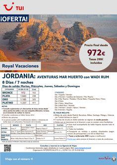 Jordania Aventuras Mar Muerto y Wadi Rum.7 noches.Septiembre y Octubre con TK.Precio final dsde 972€ ultimo minuto - http://zocotours.com/jordania-aventuras-mar-muerto-y-wadi-rum-7-noches-septiembre-y-octubre-con-tk-precio-final-dsde-972e-ultimo-minuto-2/