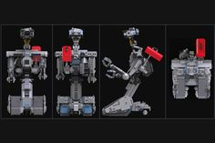 LEGO Ideas - Johnny 5 from short circuit