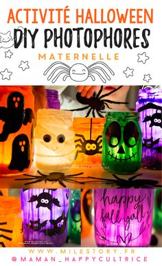 diy lanterns halloween tutorial to make lanterns . Diy Halloween, Theme Halloween, Happy Baby, Toddler Activities, Lanterns, Cool Art, Fall, Blog, Dog Harness