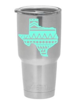 Your Name Custom Decal Sticker For Your Yeti Rambler Tumbler - Yeti decals