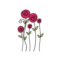 drawings of eyes Doodle Art, Doodle Drawings, Art Drawings Sketches, Dandelion Drawing, Cute Easy Drawings, Doodle Lettering, Flower Doodles, Watercolor Cards, Art Plastique