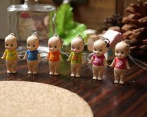 Set Of 6 Sonny Angel Kewpie Charm DIY Earring/Necklace/Phone Case/Port Dust Cover Craft Making/Doll House/Craft Stuff