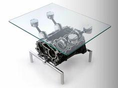 muebles con partes de carros - Buscar con Google