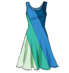 M6697   Dark blue - C1 1/2 yard Blue         - C2 1 1/8 Light blue - B   1 1/4 Green.     - C3 1 1/8  Light green - C4 5/8   One size for fabric yardage