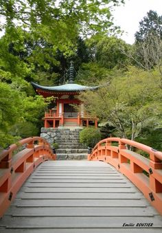 Daigo Ji Kyoto Japan by Emilie ROUTIER