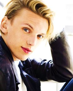 Jamie Campbell Bower   ….. those eyes! you can lose yourself in those eyes!