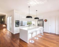 Pro #174591   All of State Floors & Furniture   Albuquerque, NM 87110 Black Kitchens, Home Kitchens, Kitchen Layout, Kitchen Design, House On A Hill, House 2, Office Interior Design, House Rooms, Decoration