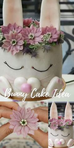 Cake Decorating Frosting, Cake Decorating Techniques, Cake Decorating Tutorials, Flower Cake Decorations, Christmas Cake Decorations, Cake Art, Pen Cake, Buttercream Flowers Tutorial, Royal Icing Flowers