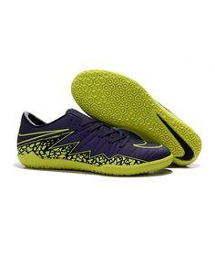 san francisco f6a91 d0476 Nike Hypervenom Phelon II IC SÁLOVÁ muži kopačky modrý žlutý