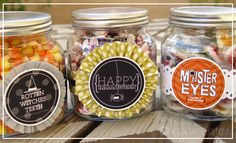 It's Written on the Wall: {Freebie} Fun Halloween treat bags & toppers plus Party Printables