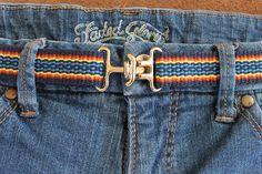 Belt Handwoven Cotton Vegan Comfortable Adjustable Belt #belt #handwoven #madeinnewmexico #vegan
