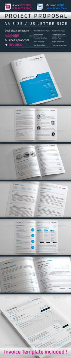 Construction Company Proposal Template Vol4 Proposal templates - it services proposal template