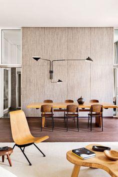Mesa puesta | Galería de fotos 3 de 19 | AD: Interior Design, Dining Room, Interiors, Mid Century, Space, Berlin Apartment