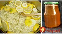 Recept našich babičiek na ten najlepší bazový med: Do čaju a letných limonád nič lepšie nepoznám! Korn, Cantaloupe, Grains, Food And Drink, Rice, Fruit, Vegetables, Syrup, Vegetable Recipes