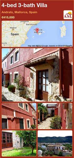 4-bed 3-bath Villa in Andratx, Mallorca, Spain ►€415,000 #PropertyForSaleInSpain