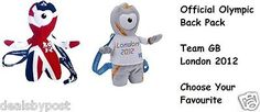 Olympic #collectable - official london 2012 or team gb #wenlock #backpack new,  View more on the LINK: 	http://www.zeppy.io/product/gb/2/290759871564/