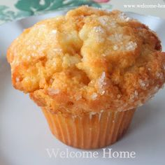 Try Hot Buttered Rum Muffins! You'll just need 12 tablespoons butter, room t… Try Hot Buttered Rum Muffins! Jumbo Muffins, Baking Muffins, Muffin Recipes, Baking Recipes, Donut Recipes, Top Recipes, Chili Recipes, Asian Recipes, Bread Recipes