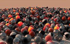 Sun shining over the ball land HD desktop wallpaper, Pattern wallpaper, Ball wallpaper - no. 3d Desktop Wallpaper, Wallpaper Please, Wallpaper Downloads, Cool Wallpaper, High Quality Wallpapers, 3 D, Discovery, Balls, Videos