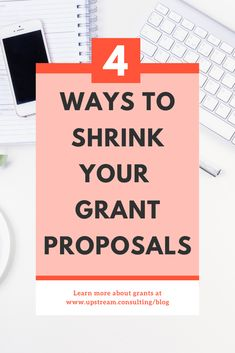 Is there anything more annoying than trying to squeeze all the great nonprofit work you do into 2000 characters? Fortunately, there are some tricks you can use to reduce the size of your grant proposals. Click through to read more. Grant Proposal Writing, Grant Writing, Nonprofit Fundraising, Fundraising Ideas, Disability Grants, Proposals, Non Profit, Read More, Characters
