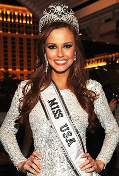 I love our current Miss USA, Alyssa Campanella, because a beautiful redhead finally won the crown!   @Francesca Chaba