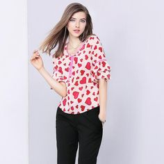 You know you want to buy this 👉 2017 new women's lotus leaf sleeve shirt printed silk blouse love fashion http://get-n-give-love.myshopify.com/products/2017-new-womens-lotus-leaf-sleeve-shirt-printed-silk-blouse-love-fashion?utm_campaign=crowdfire&utm_content=crowdfire&utm_medium=social&utm_source=pinterest