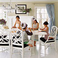 Dining Room ~ Kid Friendly