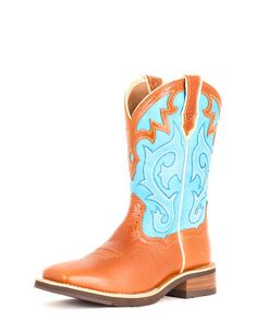 Women's Unbridled Boot - Coyote Brown/Cielo Blue