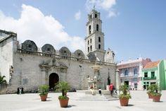 Plaza de San Francisco, Basilica Menor de San Francisco de Asis, La Habana Vieja, Cuba