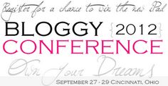 """Register for Bloggy Conference for a chance to win the new iPad!    Use Code """"beBloggyCon"""""""