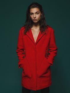 #answear.com #coat #red #woman #fashion