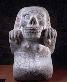 mictecacihuatl | MICTECACIHUATL -LA DIOSA AZTECA DE LA MUERTE
