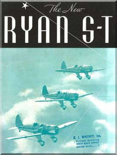 Ryan ST Aircraft Airplanes Technical Manual - Aircraft Reports - Manuals Aircraft Helicopter Engines Propellers Blueprints Publications