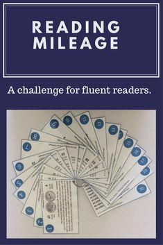#ThinkingChallenges  Reading Mileage. Fluent readers. Literacy centers. Reading Activities. Upper grades. Teacher resources. Teacher timesavers. Math Literacy, Literacy Centers, Reading Activities, Classroom Activities, Higher Order Thinking, Thematic Units, Critical Thinking Skills, Upper Elementary, Word Work