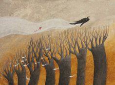 "Kinga Rofusz illustration for ""Irijam and Jonibe"" by Schein Gabor."
