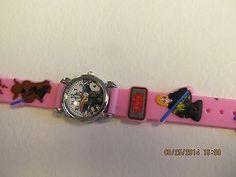 Star Wars Children Pink Cartoon PVC Band Quartz Wrist watch Toy 221