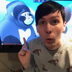 I know it's a weird role for Dan and Phil to play but I'm proud of them