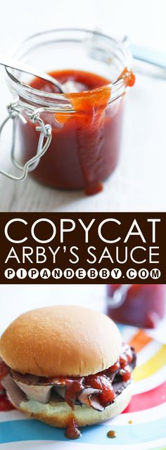 Copycat Arby's Sauce | JUST like the original! Only a few ingredients, a few minutes and you can have a huge batch all to yourself.