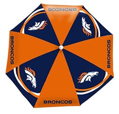 NFL Broncos Beach or Tail Gate Umbrella *** Read more reviews of the product by visiting the link on the image.
