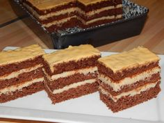 Kávés szelet recept lépés 9 foto Something Sweet, Tiramisu, Rum, Ethnic Recipes, Food, Essen, Rome, Tiramisu Cake, Yemek