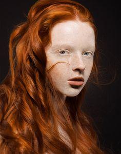 ginger tresses
