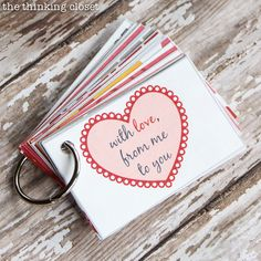 Creative Valentine's Day Gift Idea...a mini-book with pre-planned date nights!
