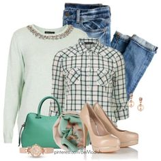 Cute Spring Outfits Polyvore #BeModish