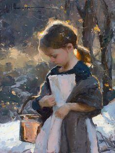 """Grace"" - Pintura de Michael Malm"