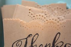 DIY Favour Bags :: Hey Gorgeous, The Blog