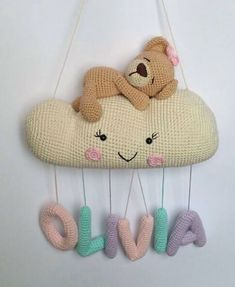 New and Trend Amigurumi Bear Crochet Pattern Ideas Part 11 Crochet Baby Mobiles, Crochet Mobile, Crochet Baby Toys, Crochet Bunny, Crochet Home, Crochet Patterns Amigurumi, Cute Crochet, Amigurumi Doll, Newborn Gifts
