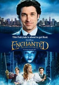 Enchanted (2007) movie #poster, #tshirt, #mousepad, #movieposters2