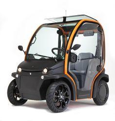 Birò electric car: small dimensions, great performance. Estrima Pordenone
