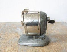 vintage pencil sharpener / Boston champion by RustBeltThreads, $36.00
