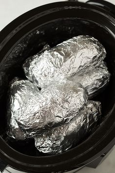 Slow Cooker Baked Potatoes   Cooking Classy